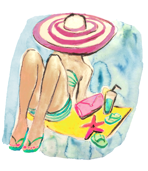 Havainas Beach Illustraution by Bikinis and Bibs.jpg
