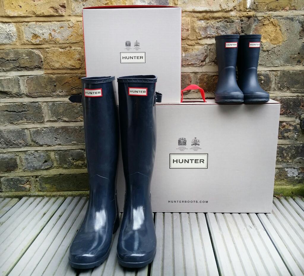 Hunter Boots - Women's Original Refined Gloss Wellington Boots