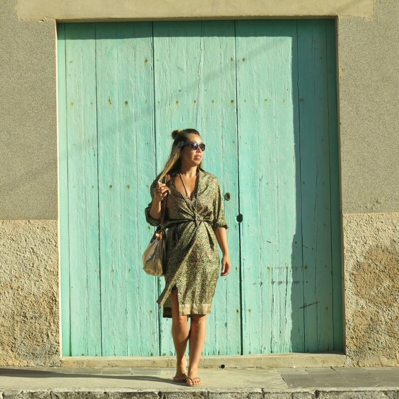 Vintage Sari Shirt – Lisa Taylor