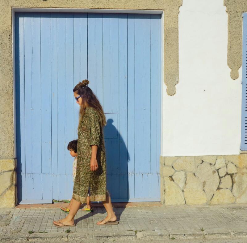 lisa taylor vintage sari shirt