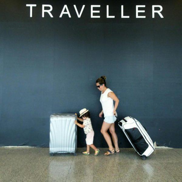 samsonite family luggage