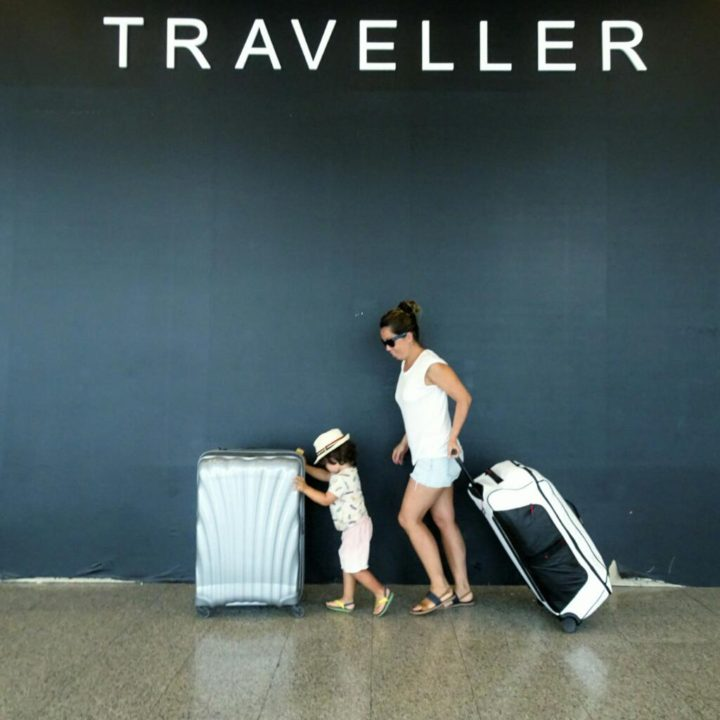 samsonite family luggage