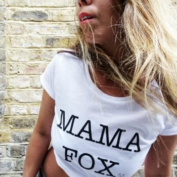 Mama Fox Tee