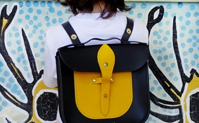 honey & toast satchel