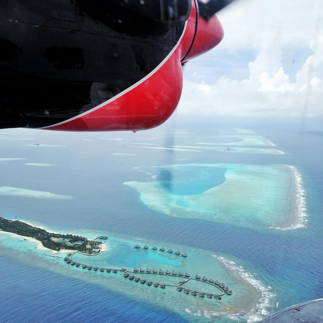 The Maldives Atolls