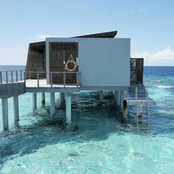 Over water villa, park hyatt hadahaa, maldives