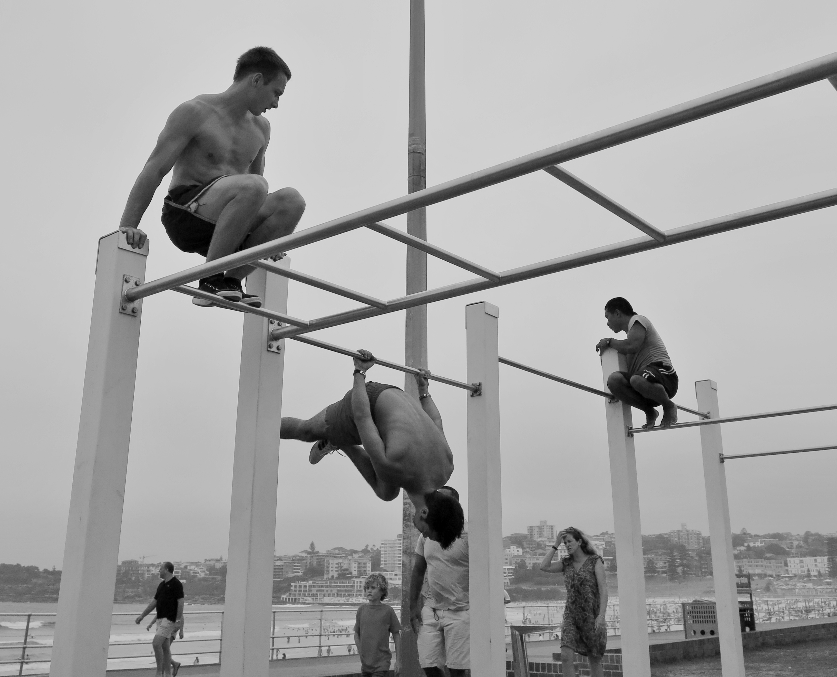 bondi workout muscle beach