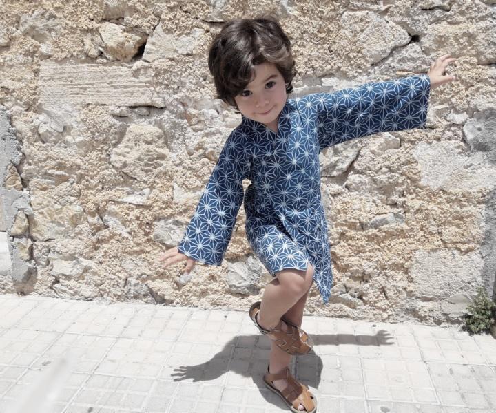 Olive Loves Alfie Kimono