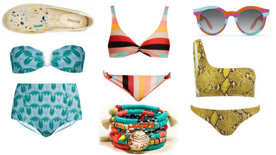 Rainbow Beach: The Colourful Bikini Edit