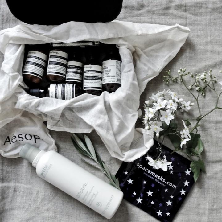 Aesop boston travel kit