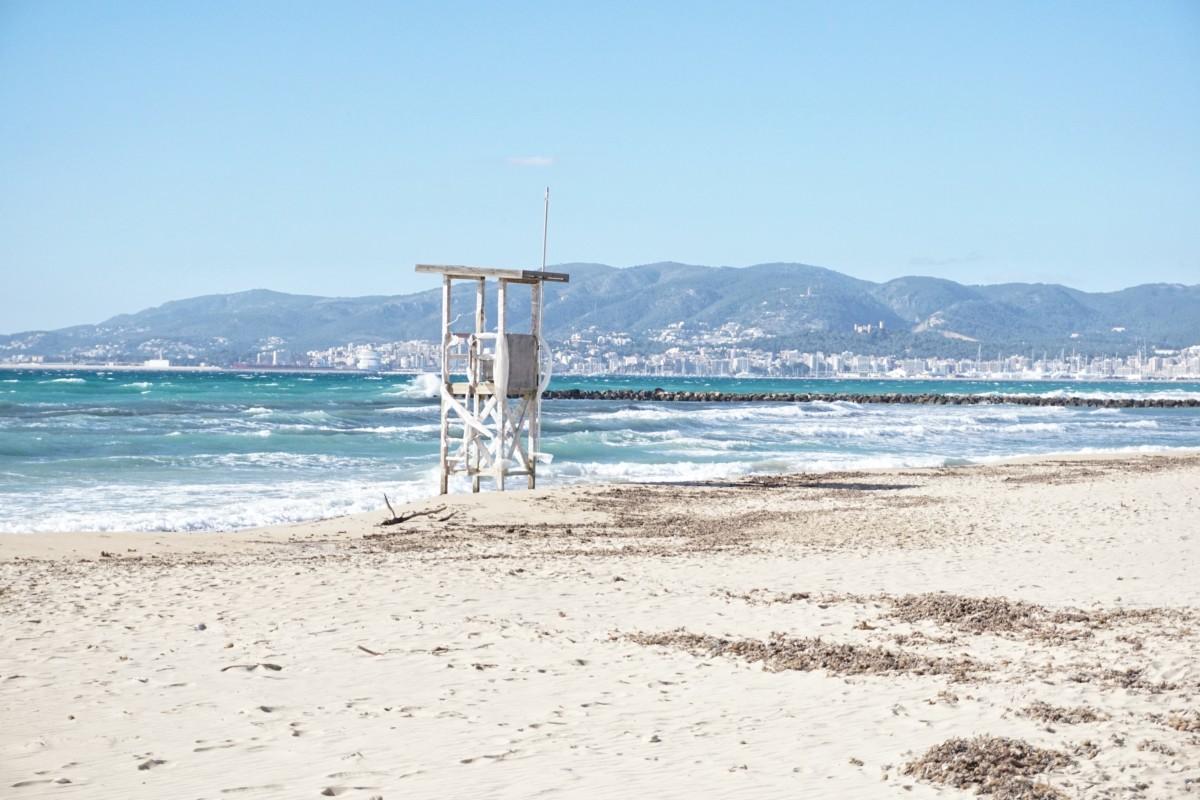 ciutat jardi beach palma mallorca